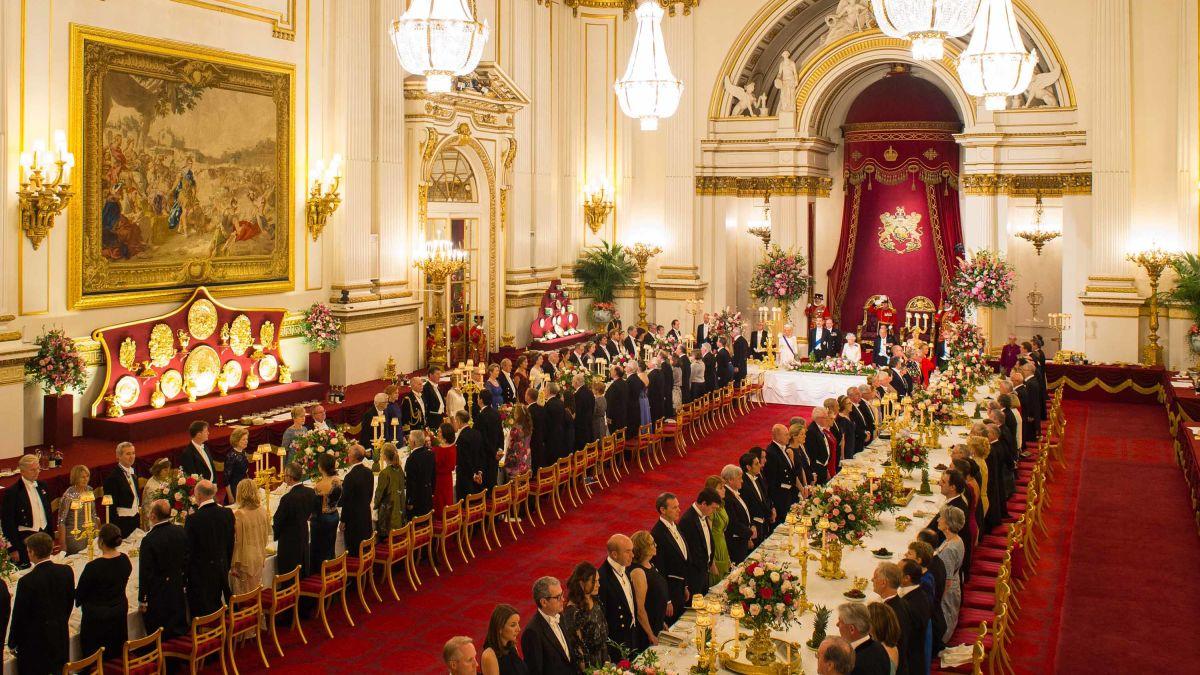 Buckingham Palace palace's ballroom state dinner 2019