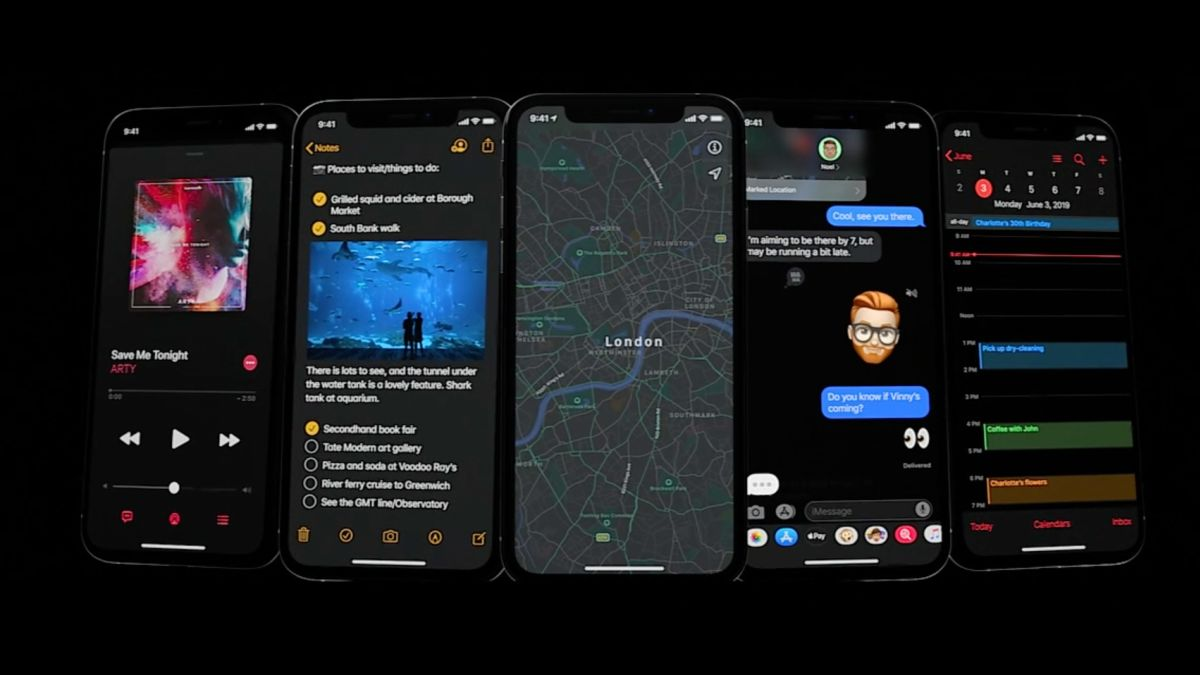 Dark mode: What to know about the new iPhone feature - CNN