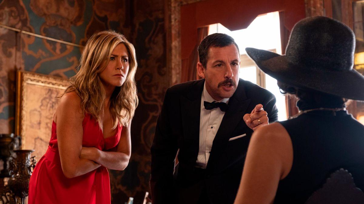 Adam Sandler and Jennifer Aniston reunite in generic Netflix
