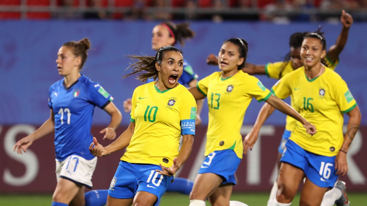 World Cup 2020 Brazil Squad.Marta Brazil Great Makes History With 17th World Cup Goal Cnn