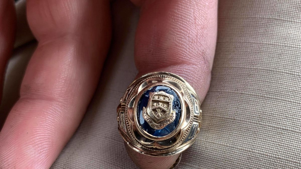 He Found A Class Ring That Was Lost For Nearly 60 Years And
