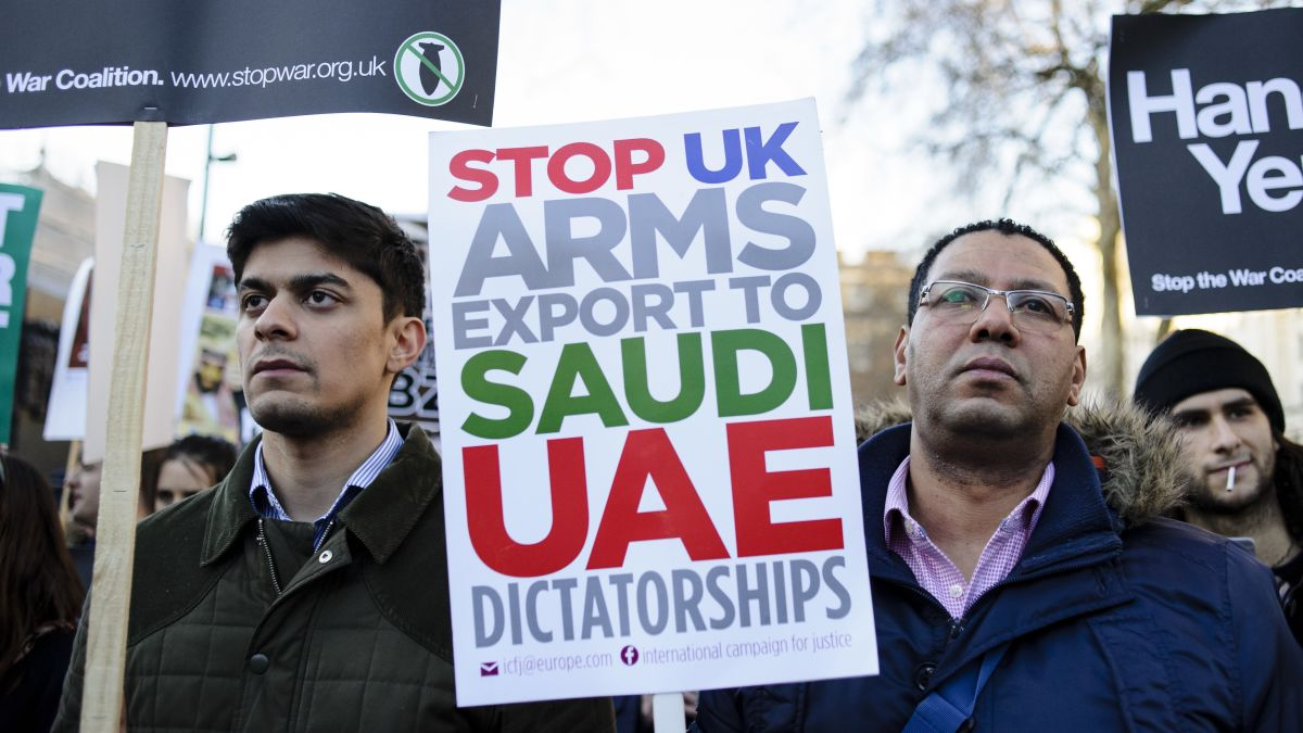 UK arms sales to Saudi Arabia unlawful, court rules as war in ...