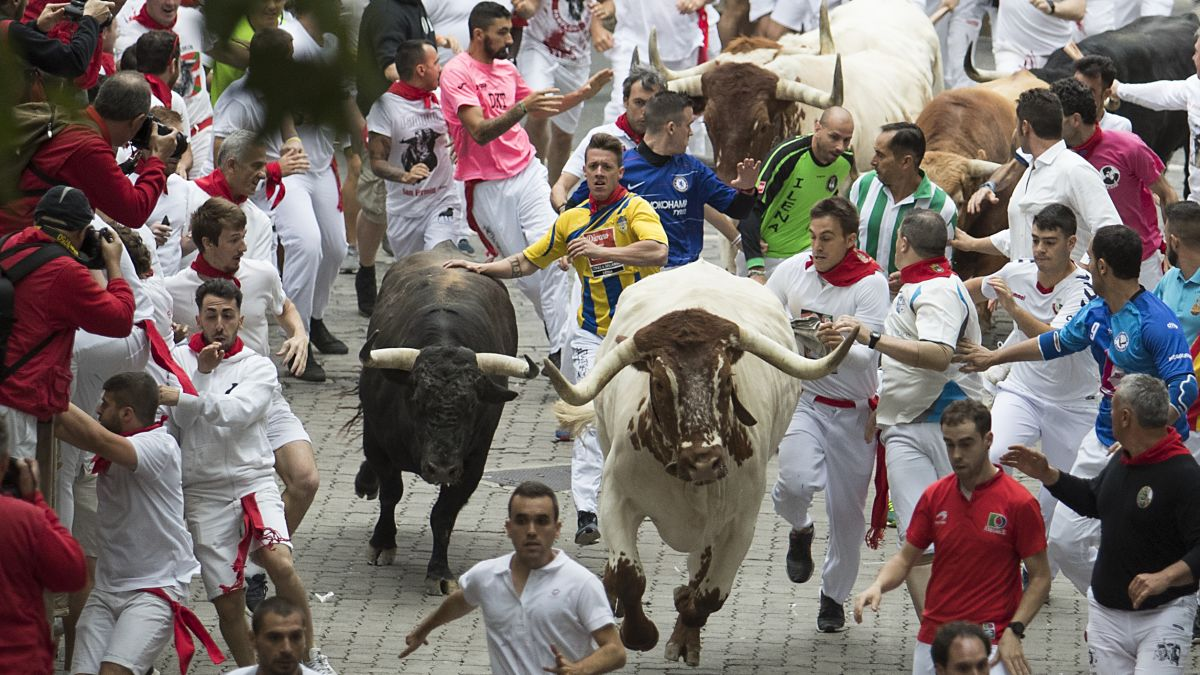 Pamplona: running of the bulls leaves 3 gored on first day in 2019 - CNN