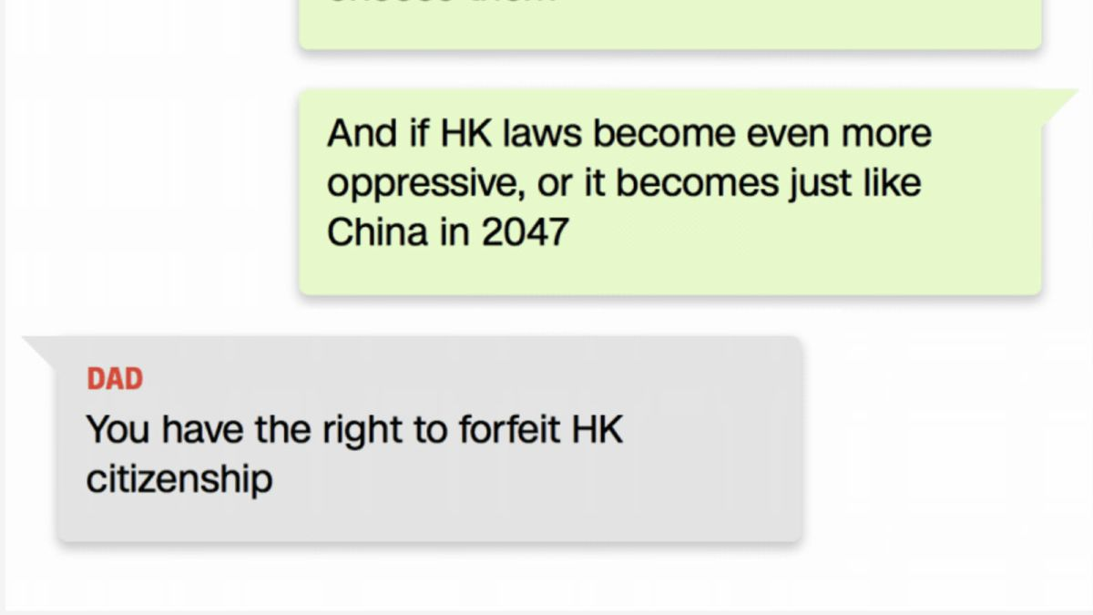 Hong Kong: families are feuding as China extradition bill exposes