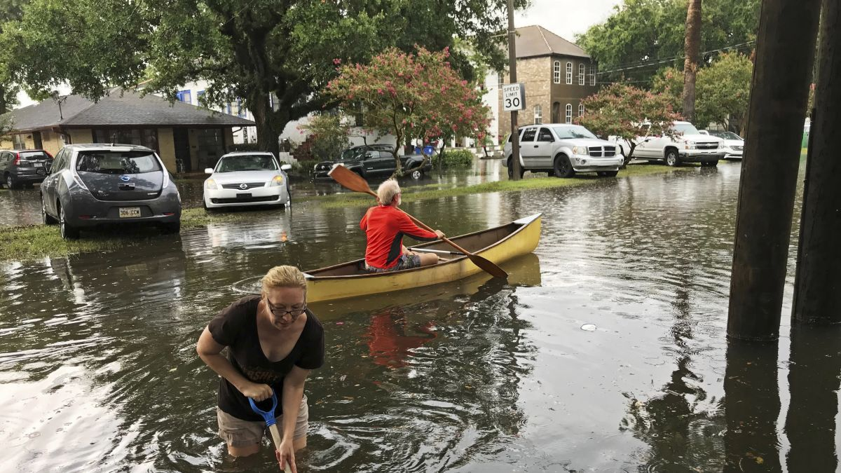 New Orleans faces a never-before-seen problem with Tropical Storm Barry