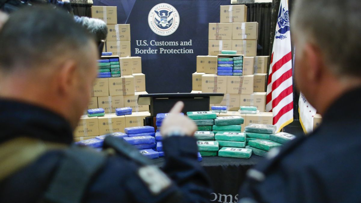 Cargo ship owned by JPMorgan Chase seized by US with 20 tons of
