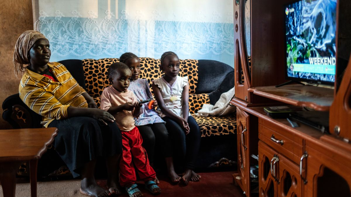 China is slowly expanding its power in Africa, one TV set at a time