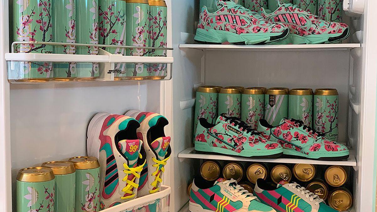 AriZona Iced Tea and Adidas offered