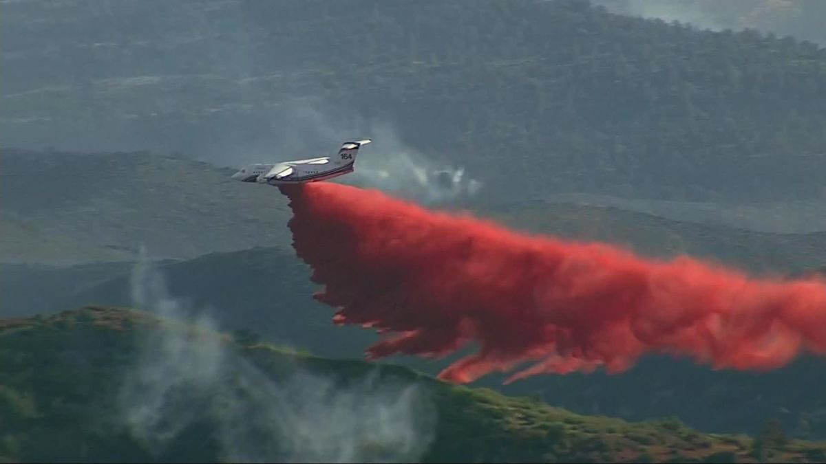 Cellar Fire: A raging wildfire is burning 7,000 acres near