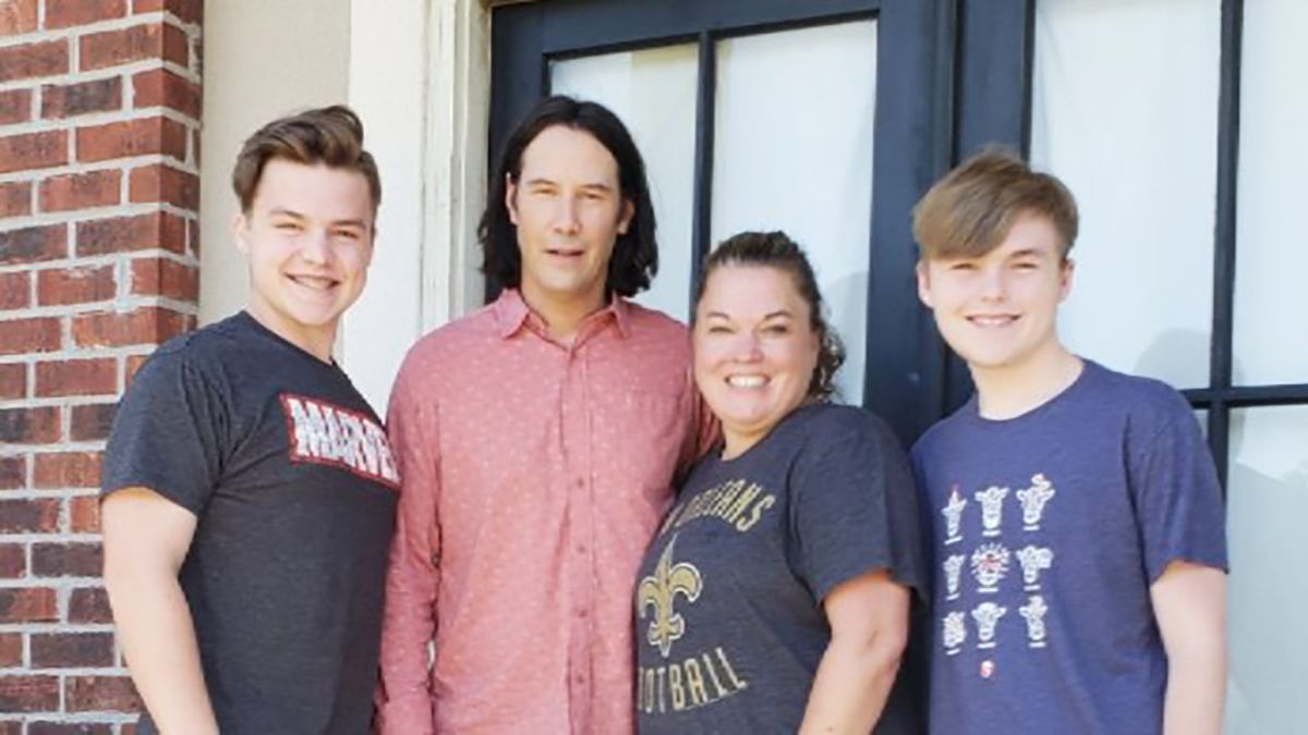 Keanu Reeves' most excellent surprise for one fan is