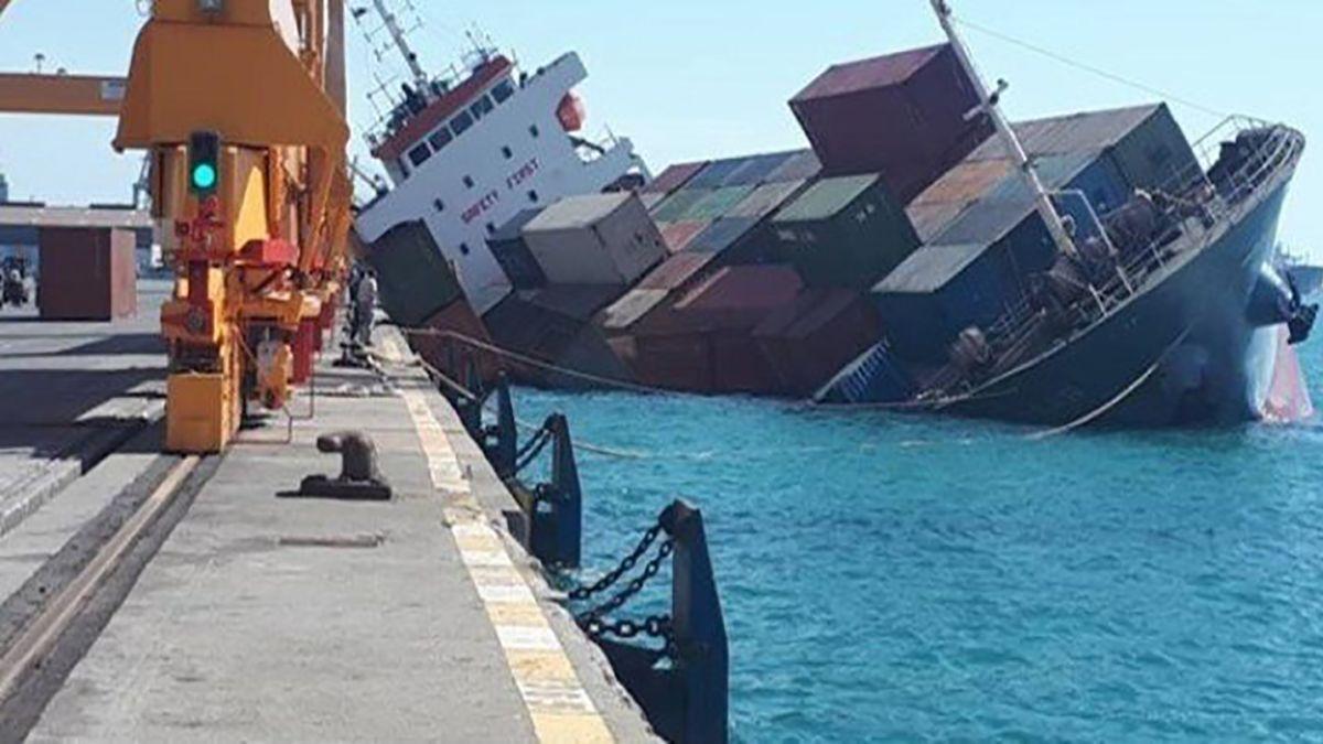 Iranian Cargo Ship Sinks In Caspian Sea Cnn