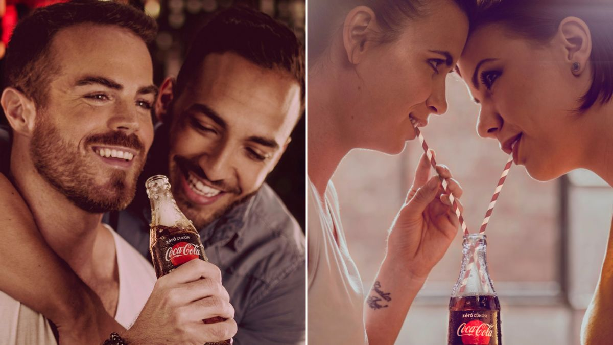Image result for love is love coke ad hungary