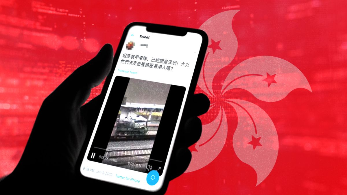 Hong Kong protests take the battle online: The war on misinformation