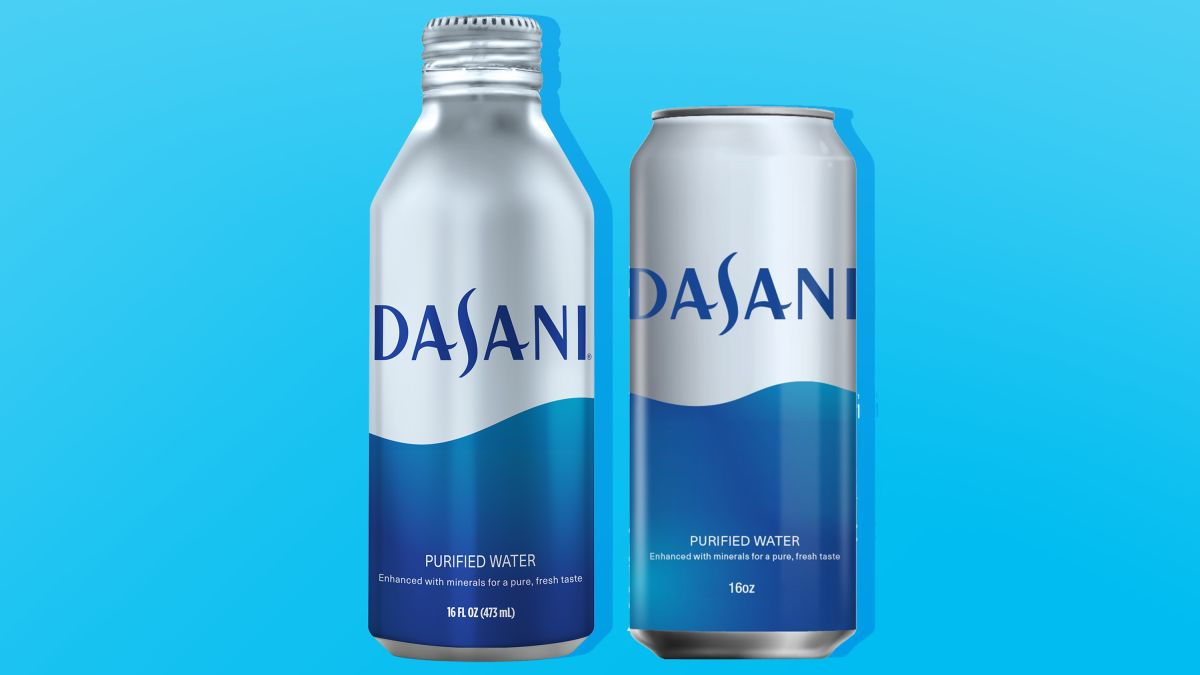 Coca-Cola will sell Dasani in aluminum cans and bottles - CNN