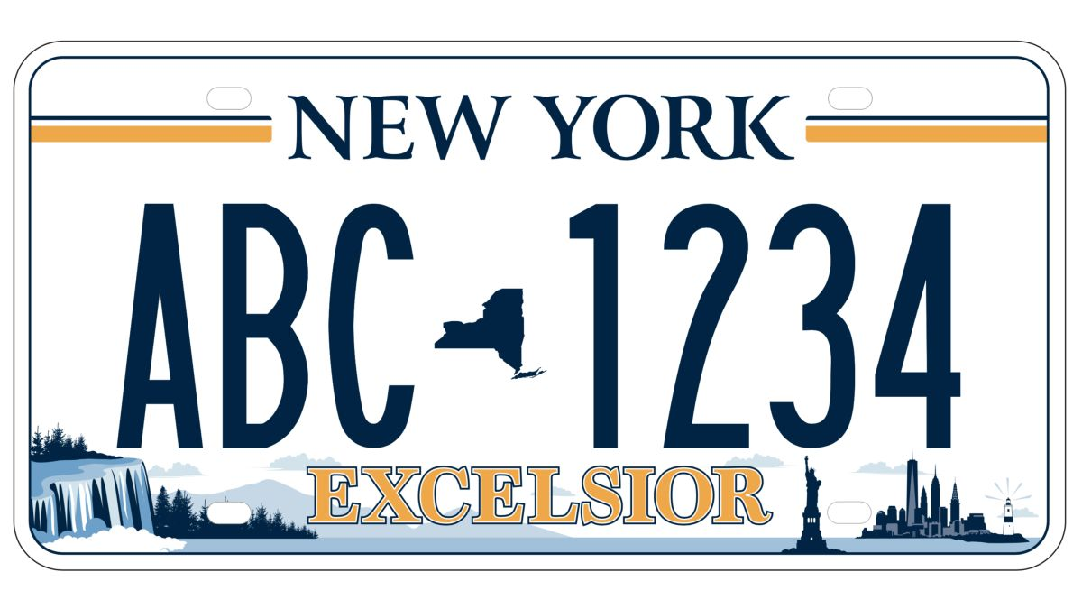 Excelsior New Yorkers Pick A Wide Ranging License Plate Design Cnn