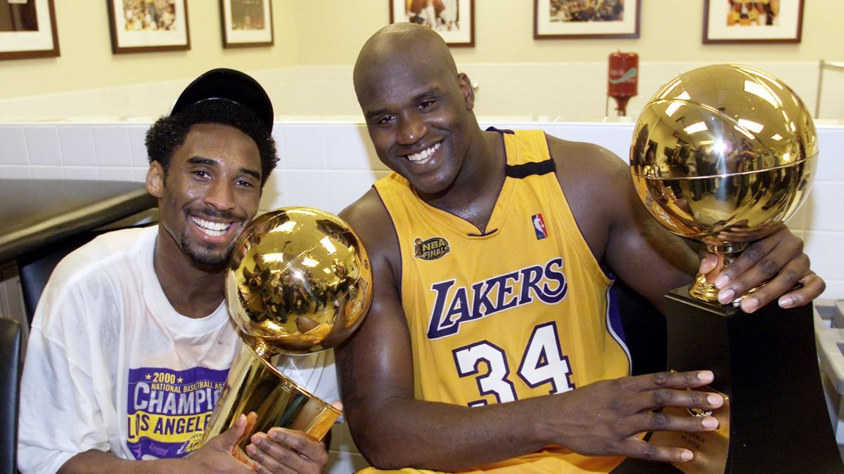 super popular 5373b a70ce Kobe Bryant thinks Shaq should've worked harder on the ...