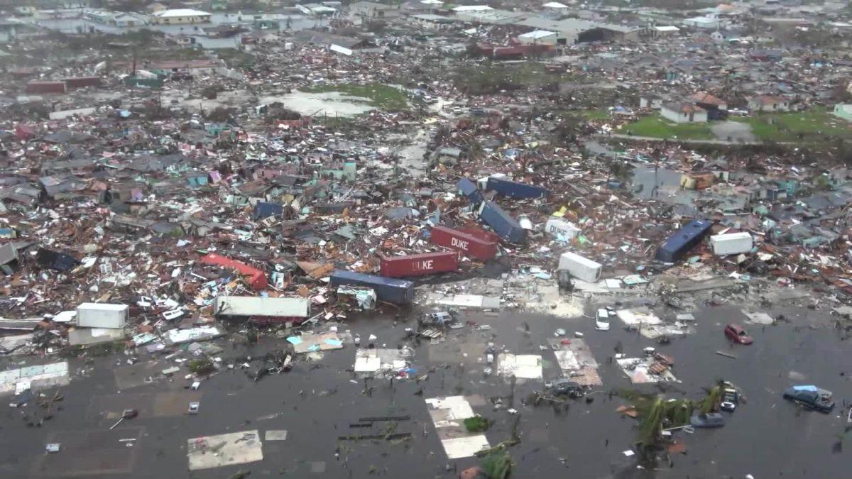 Image result for hurricane dorian damage cnn