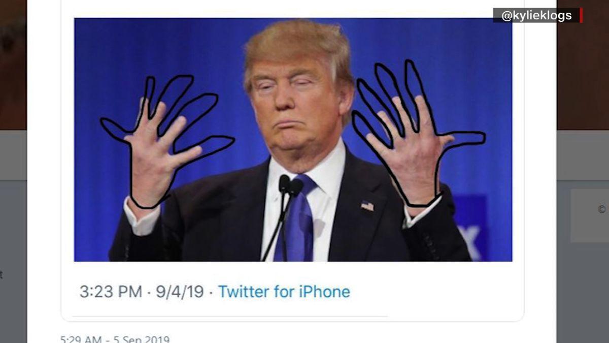 Internet mocks President Trump's suspected redesign of