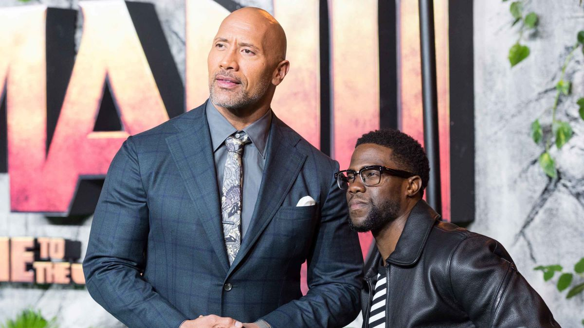 Kevin Hart Doing Very Well According To The Rock Cnn