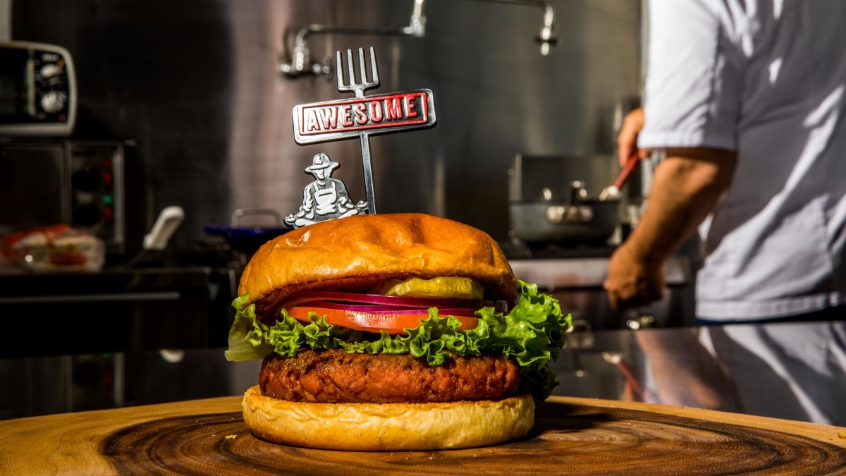 Nestle S Awesome Burger Is The Company S Answer To The Plant Based