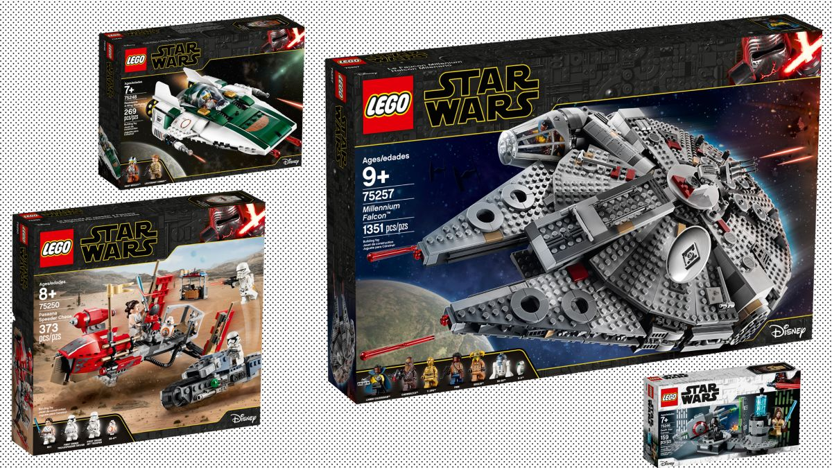 Lego Unveils Nine Star Wars Sets To Celebrate Triple Force
