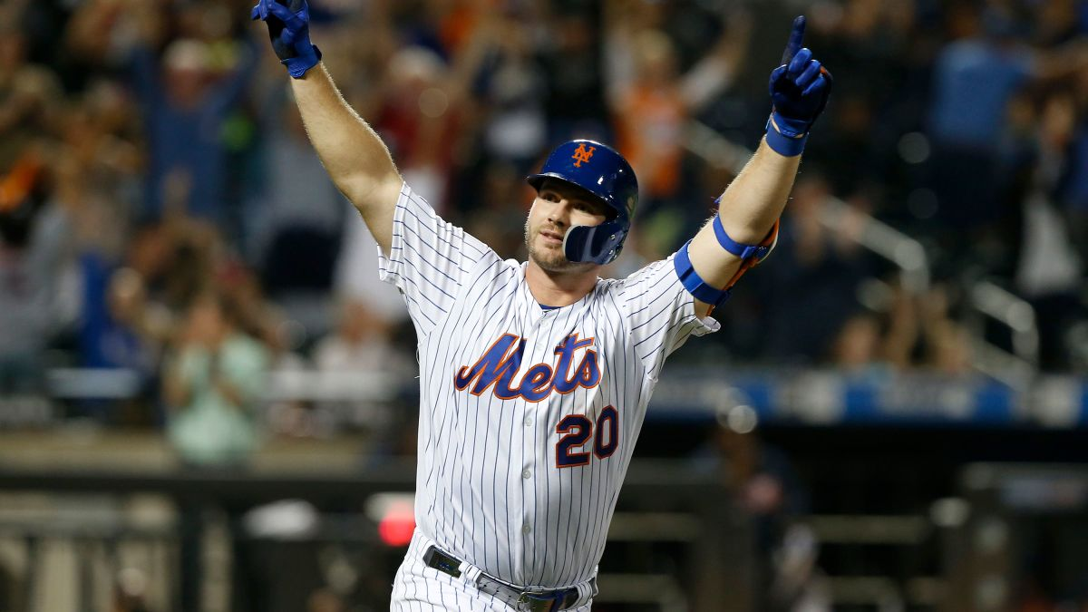 2020 Mlb Home Run Leaders.Pete Alonso Of The New York Mets Breaks Mlb S Rookie Home