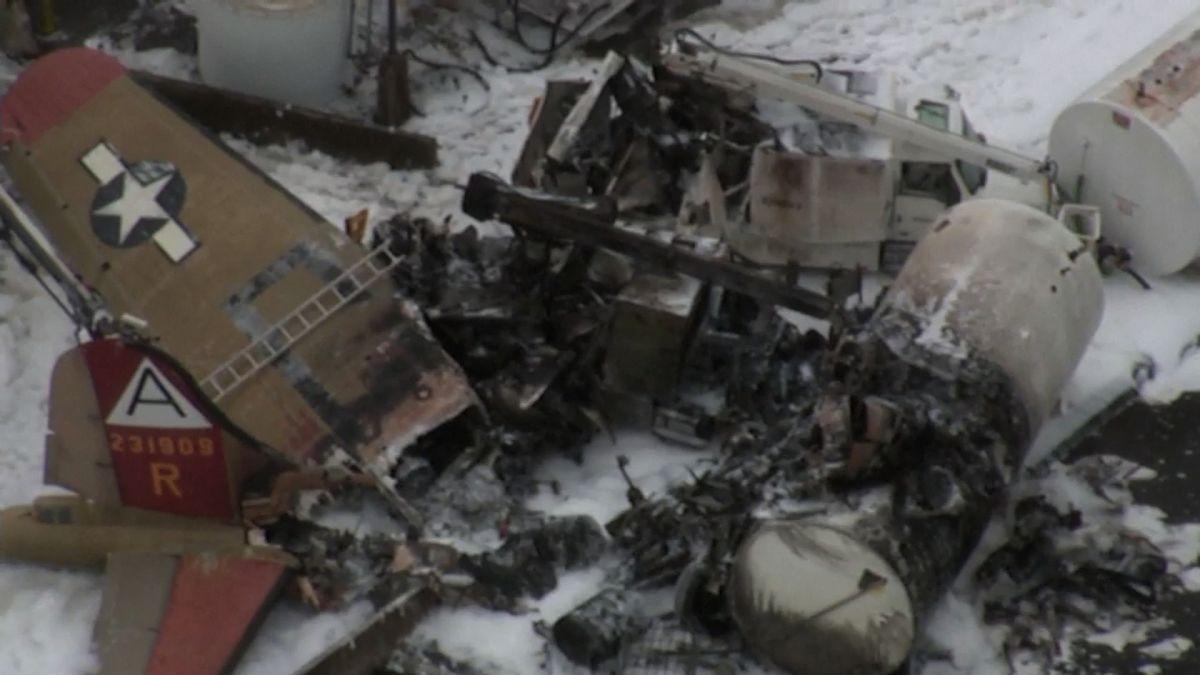 Tai nạn máy bay dân sự làm 7 người bị chết và nhiều người khác bị thương
