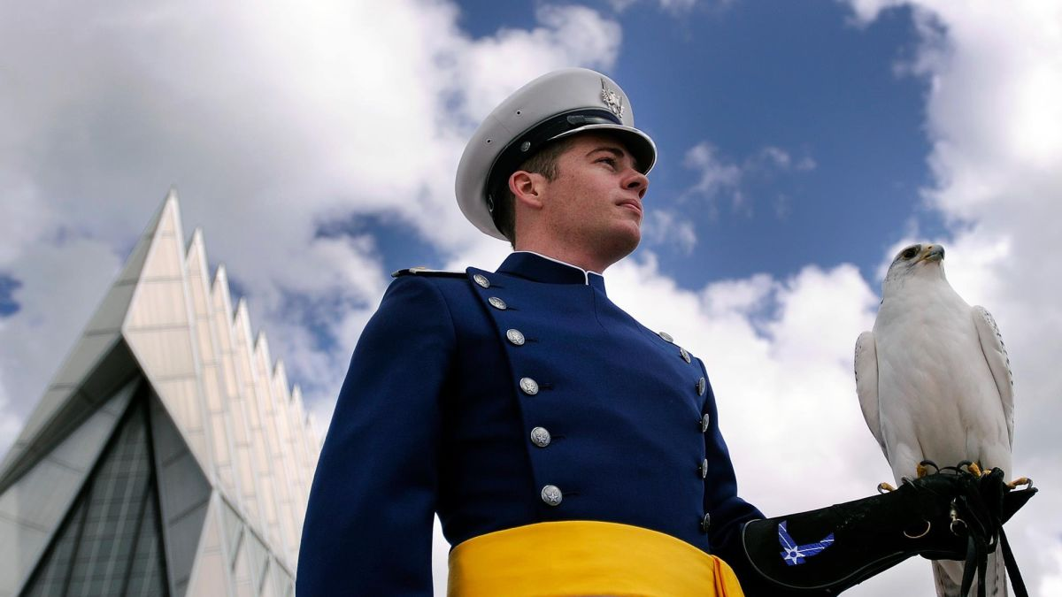 Air Force Academy Graduation 2020.The Air Force Academy Says Its Longest Serving Live Falcon