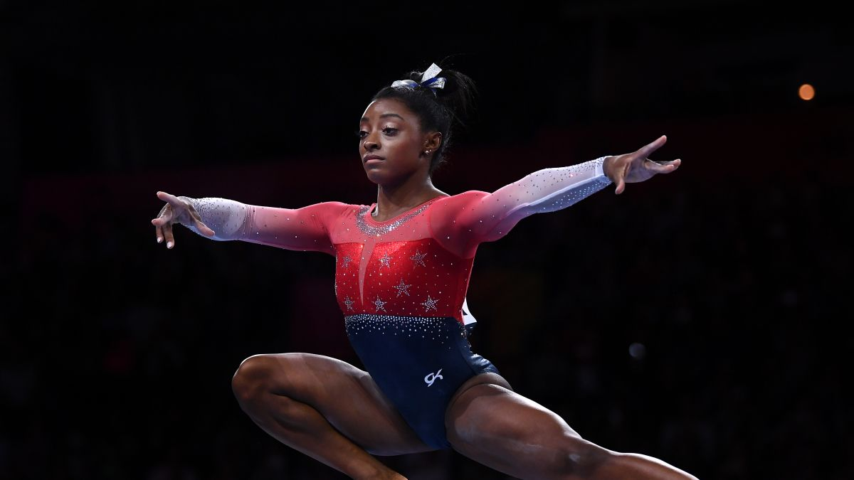 Gymnastics Current Events 2020.Simone Biles Just Became The Most Decorated Female Gymnast