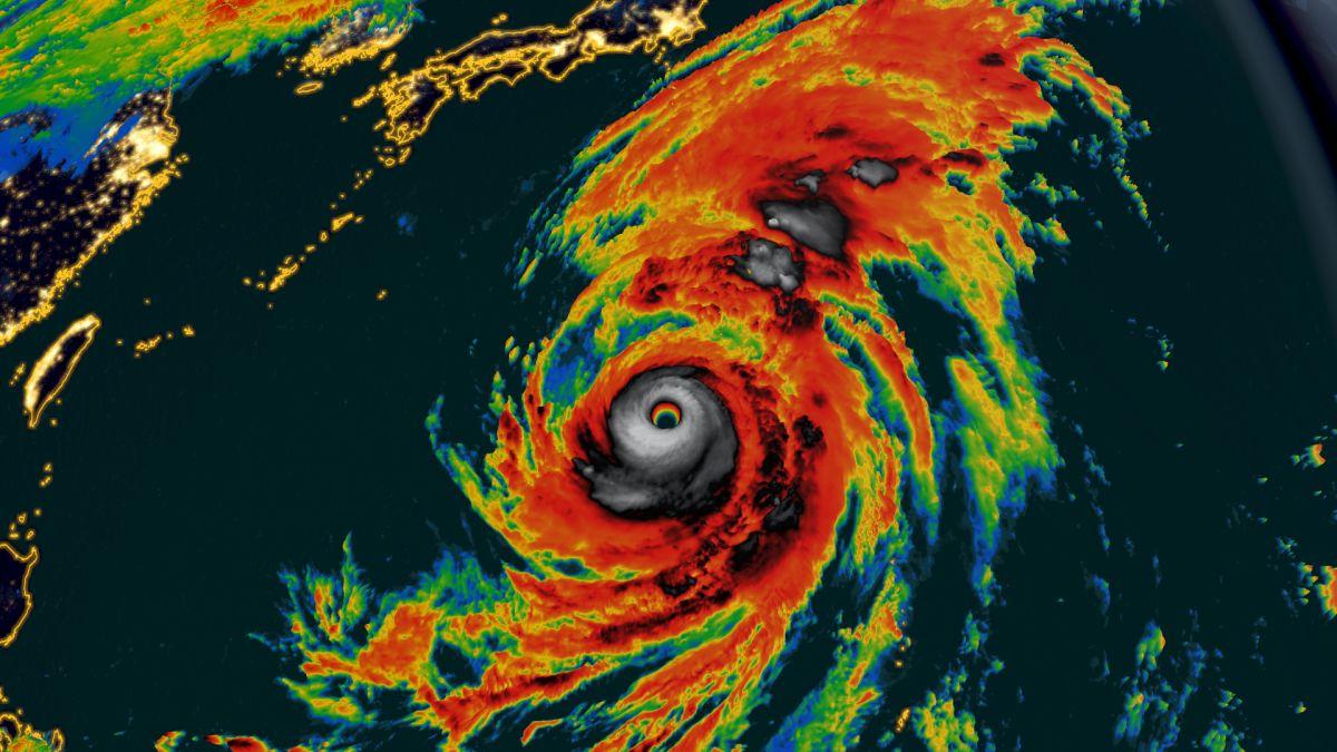Super Typhoon Hagibis Is The Longest Lived Super Typhoon