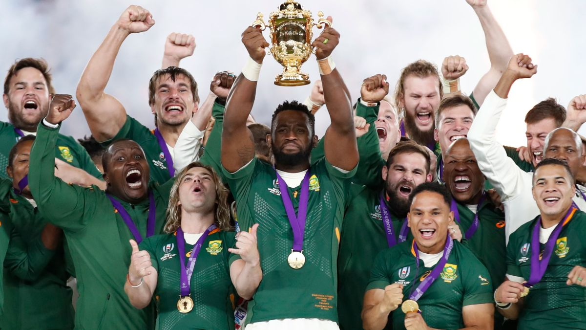 Rugby World Cup South Africa Stuns England In Final Cnn