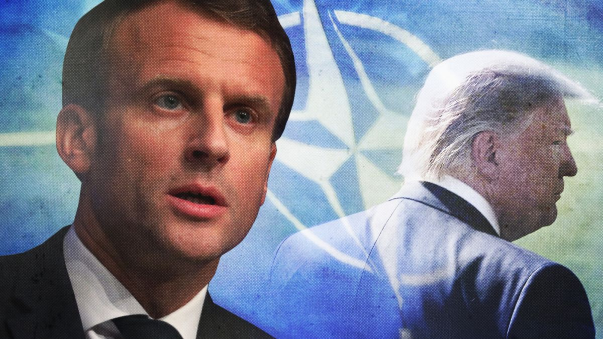 Macron Says Europe Is Facing The Brain Death Of Nato Cnn