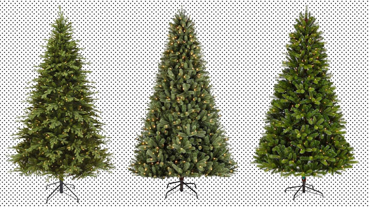 Pre,lit Christmas trees are on sale at Amazon, today only , CNN