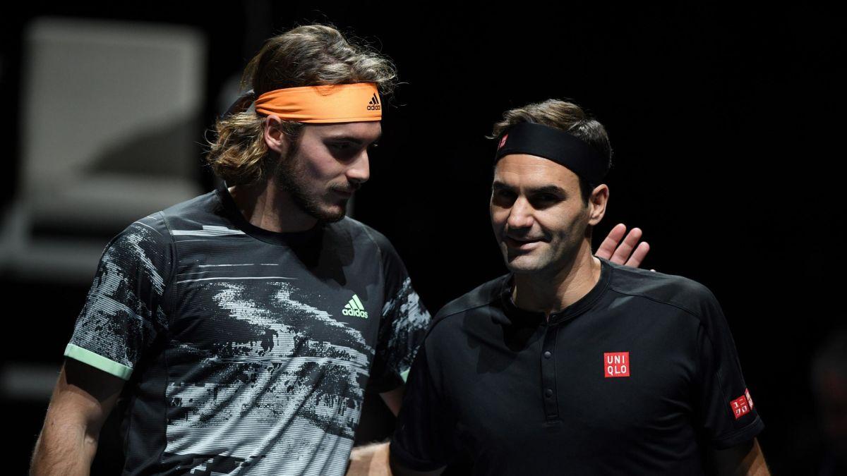 Stefanos Tsitsipas Le Conto A Cnn Que Sintio Al Derrotar A Su Idolo Roger Federer Cnn Video