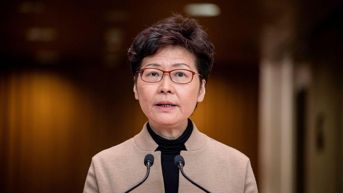 Carrie Lam: US sanctions Hong Kong chief executive over democratic  crackdowns - CNNPolitics