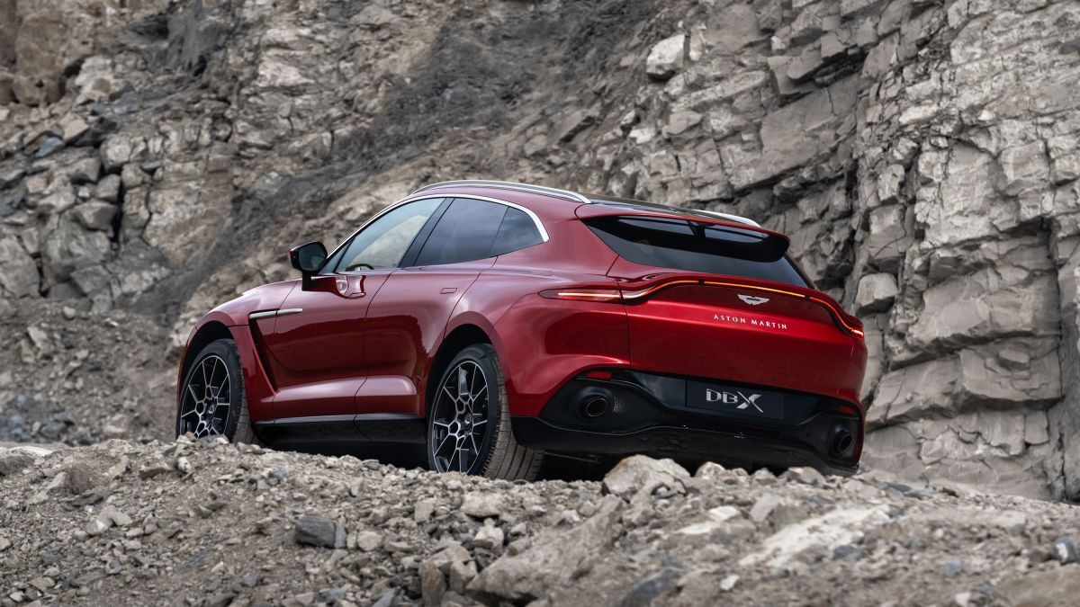 Aston Martin Unveils Its First Suv Cnn