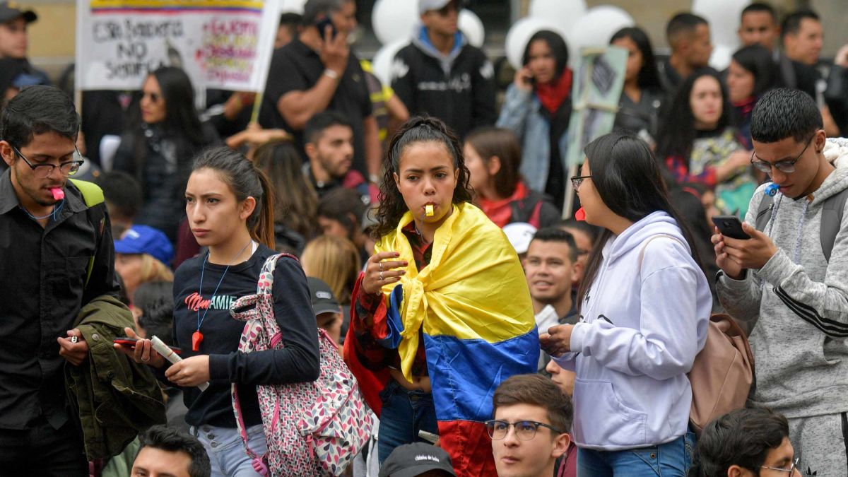Image result for colombia protests