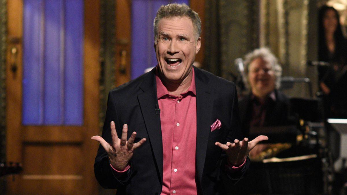 Will Ferrell Starstruck By Ryan Reynolds During Snl Monologue Cnn
