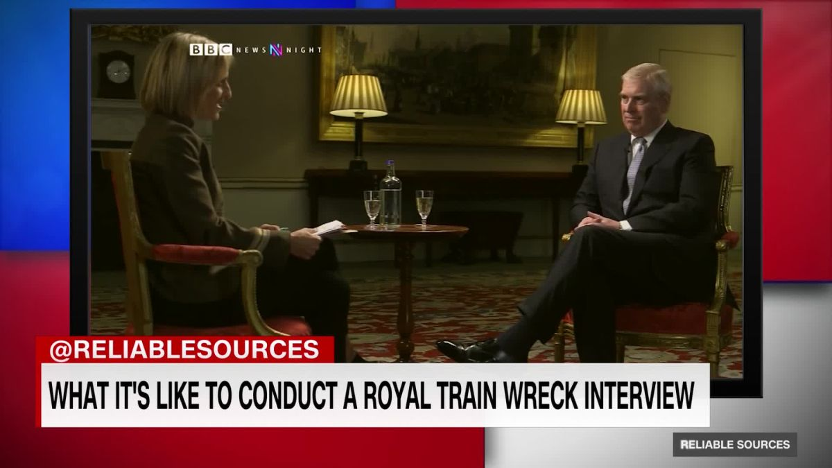 Behind The Scenes Of Prince Andrew S Bbc Interview Cnn Video