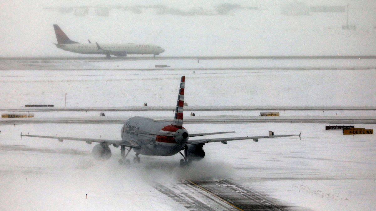 Resultado de imagen para denver airport snow storm