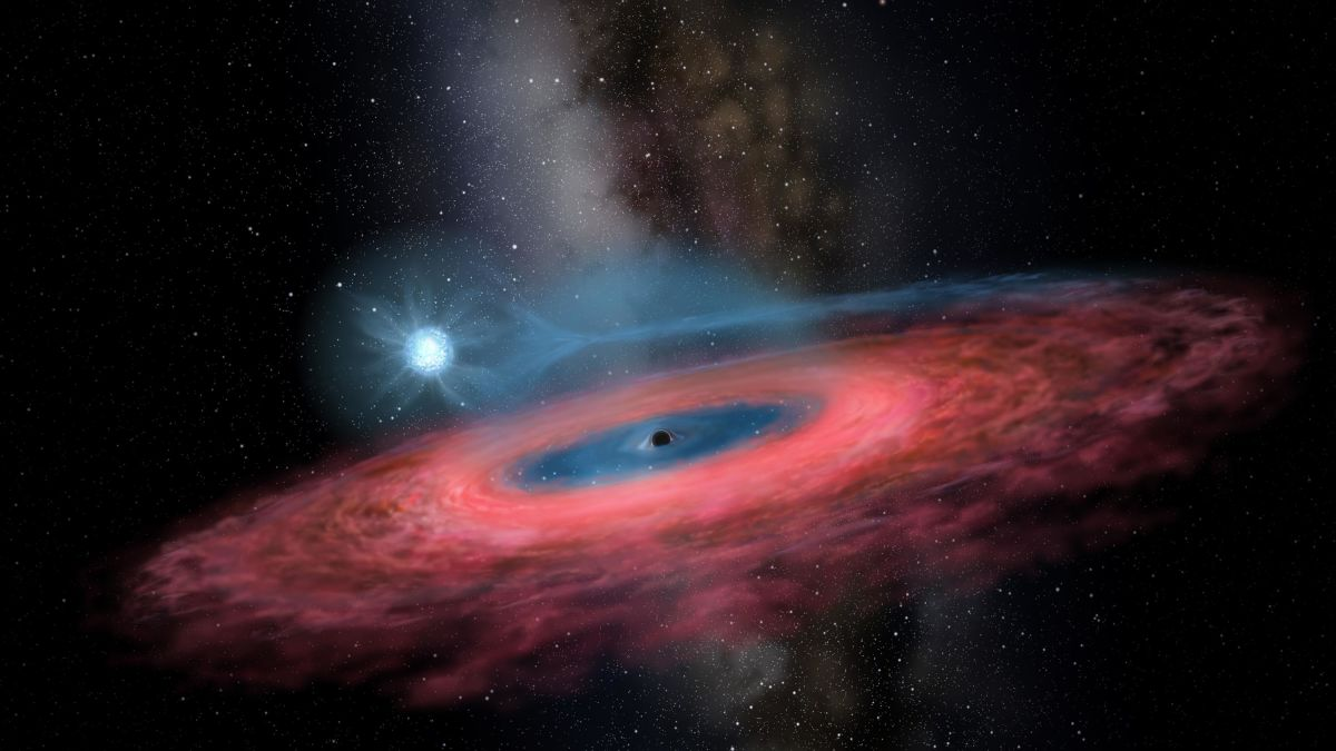 Kết quả hình ảnh cho Scientists have discovered a 'monster' black hole that's so big it shouldn't exist By Jessie Yeung, CNN