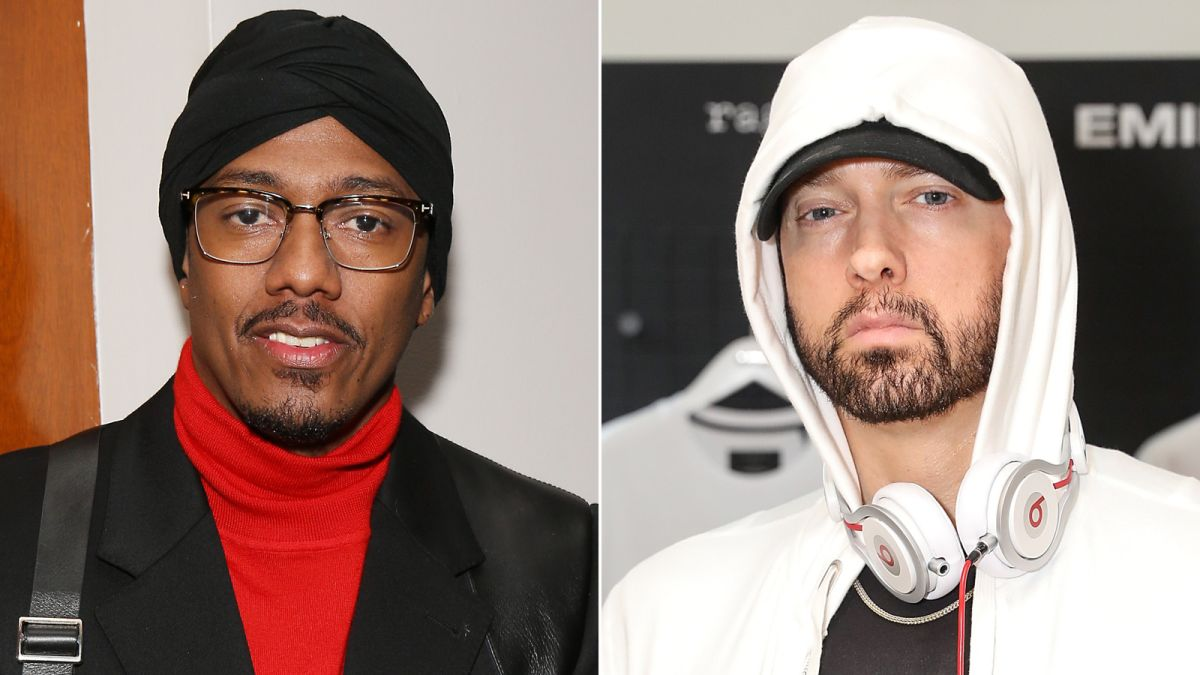 Eminem And Nick Cannon Feuding Again After Diss Track Cnn