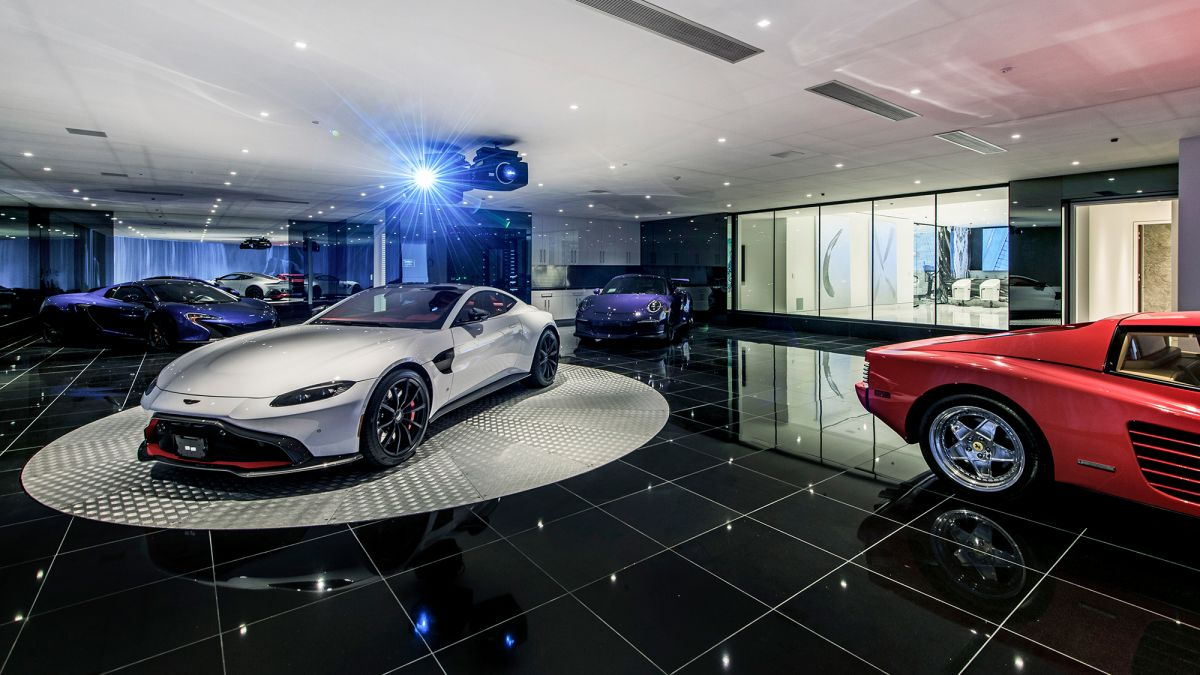 These Homes Have Garages That Look More Like Art Galleries Cnn