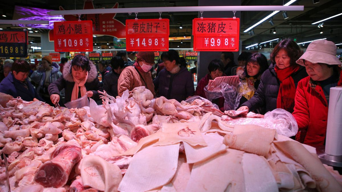 China cuts some tariffs to boost trade and take heat out of pork prices зурган илэрцүүд