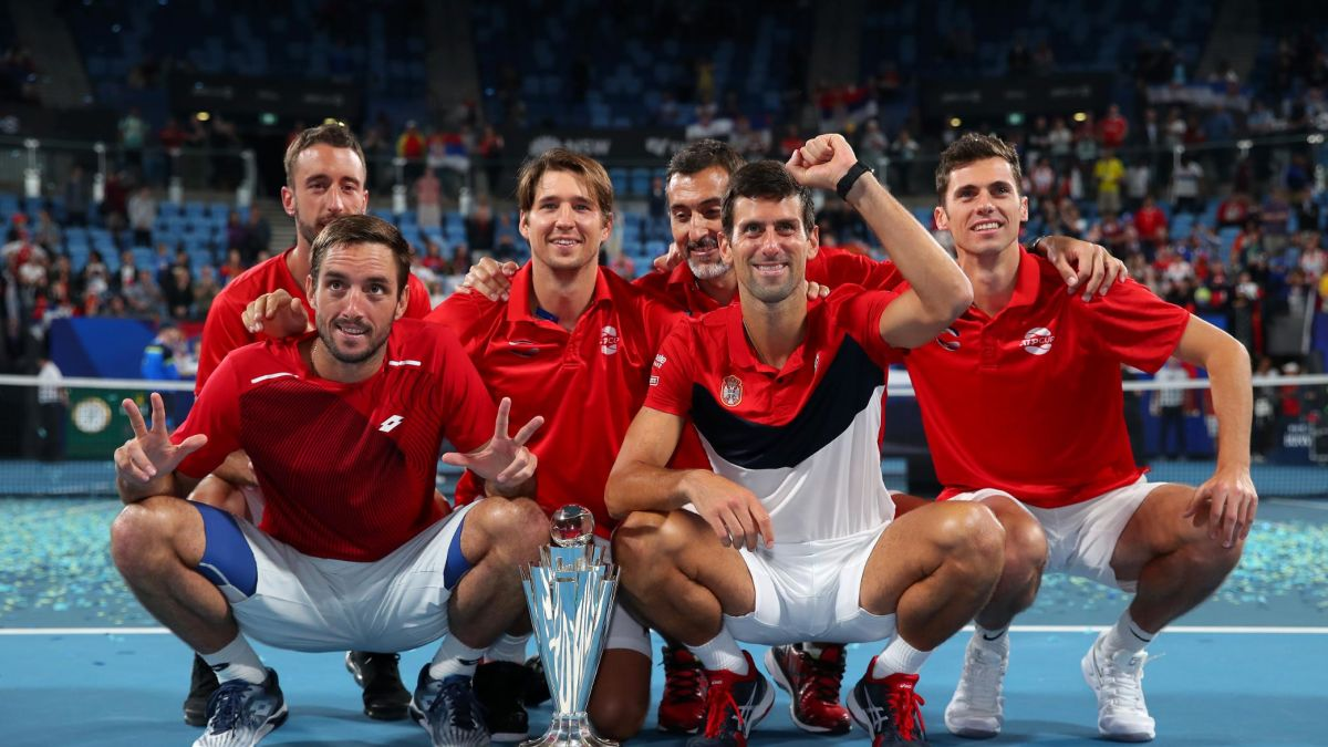 Djokovic Inspires Serbia To First Atp Cup Win Cnn