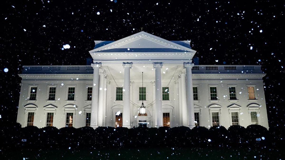 When Does The White House Take Down Christmas Decorations In January 2020 The White House tweeted a super weird snow photo on an abnormally