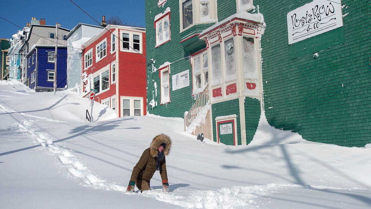 Image result for newfoundland snowstorm 2020