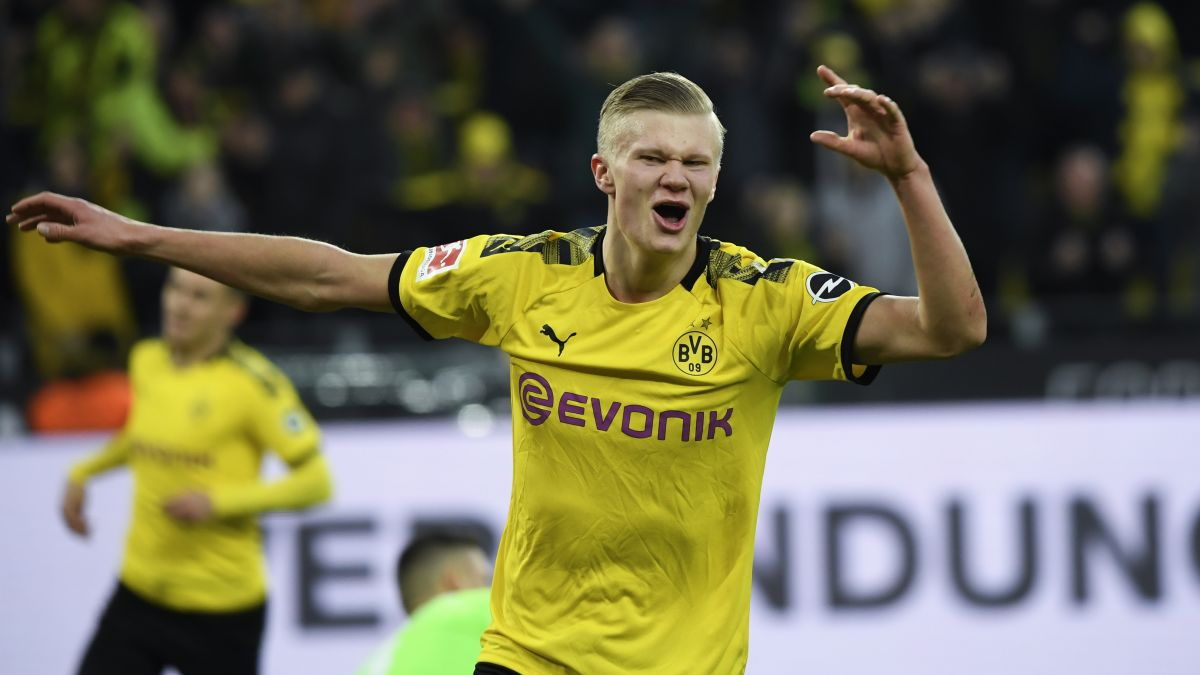 Erling Braut Haland Continues Incredible Scoring Record For Borussia Dortmund Cnn