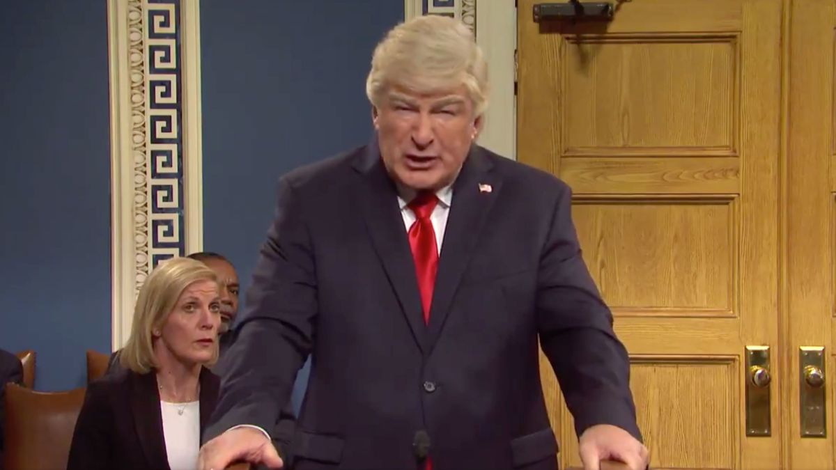SNL' presents the impeachment trial of President Trump 'you wish had  happened' - CNN
