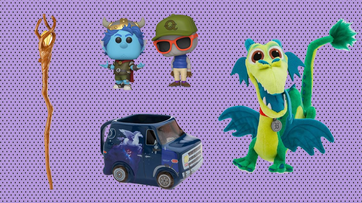 "Disney Pixar UNICORN Onward 10/"" Plush Character Toy"